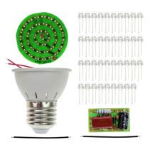 Intelligente Elettronica Nuovo Risparmio Energetico 38 Led Lampade Fai Da Te Kit - $8.14