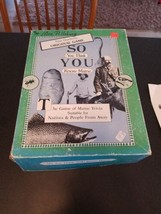 So You Think You Know Maine? Game of Maine Trivia VINTAGE  - $24.75