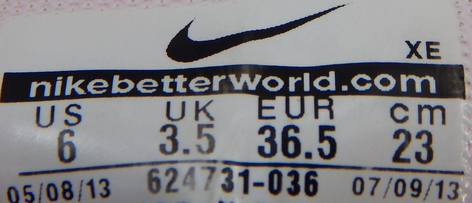 Nike Zoom Structure+ 17 Size 6 M (B) EU 36.5 Women's Running Shoes 624731-036