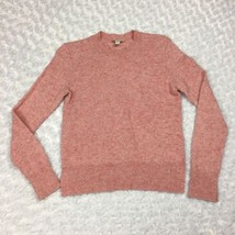 Gap Brand Lambswool Light Pink Longsleeve Pullover Womens Sweater Size Small - $15.88