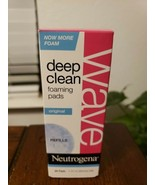 Neutrogena Wave Deep Clean Foaming Pads Refill 30 Pads *FREE SHIPPING* - $21.32
