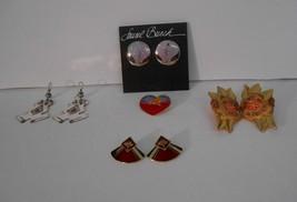 Lot of (4) prs of Signed Laurel Burch Pierced Earrings~Only $10 a pr + F... - $40.00