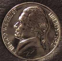 1952 Proof Jefferson Nickel #0434 - $28.99