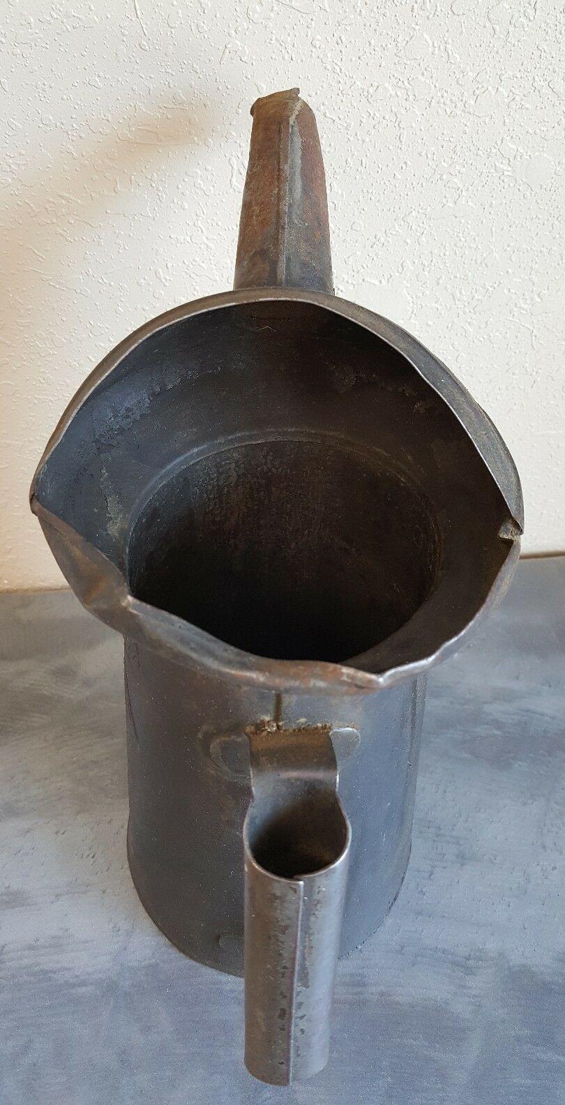 Oiler Oil Spout Can Craft Halloween 1/2 Gal Liquid Tin Minn 61 Vintage Steampunk image 4