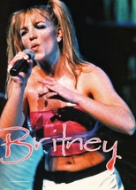 Britney Spears teen magazine pinup clipping  Bop Big Bopper Teen Beat Popstar