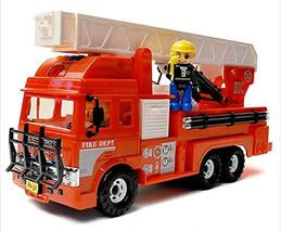 Daesung Toys Melody King Super Fire Engine Truck Car Vehicle with Fire Fighter F