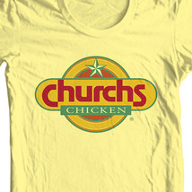 Church s chicken t shirt retro fast food tee for sale online store tees thumb200