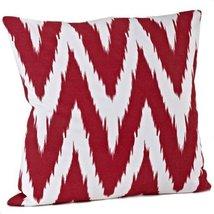 Fennco Styles Bail Chevron Decorative Throw Pillow, 100% Cotton, Fillerd... - $35.63