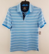 Club Room Men's Palomino Striped Polo Shirt bay Breeze 27210CRSSP - $15.99