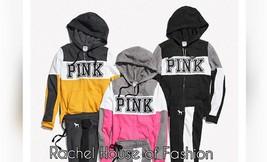 Victoria's Secret PINK PERFECT FULL-ZIP S-L, New - $47.45