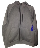 Heat Retaining Fleece Tech Hoodie Heavy Jacket Size L - $39.99