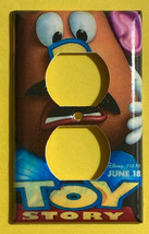 Toy Story Potato Head Light Switch Power Outlet Wall Cover Plate Home decor image 2