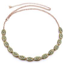 e4a0fbfe974 femmes BRONZES Or Strass Ceinture chaîne de taille diamant diamants 708 -   14.77