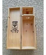 Banfi Wooden Wine Port Box Farmhouse Decor Shabby Chic Design Vintage 1995 - $11.88