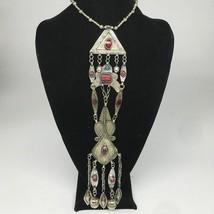 "104.4g, 20"" Turkmen Necklace Pendant Long Necktie Old Vintage Gold-Gilded,TN394 - $79.20"