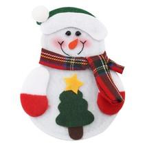 12pcs Christmas Snowman Cutlery Holder(COLORMIX TREE) - $18.33