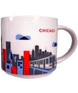 Starbucks Chicago, Illinois You Are Here Collection Coffee Mug NEW IN BOX - $39.20