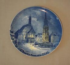Collector Plate Eschenbach Bavaria Germany Nuremberg Christmas 1971 - $17.56