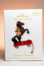 Hallmark: A Pony for Christmas - Series 15th - 2012 Ornament - $13.45