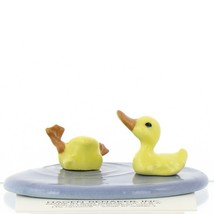 Hagen Renaker Bird Duck Baby Pond Ceramic Figurine Set