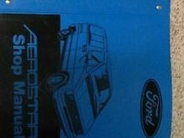 1987 ford aerostar van shop service repair workshop manual oem book - $10.25