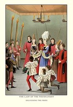 The Lady of the Tournament by H. Shaw - Art Print - $19.99+