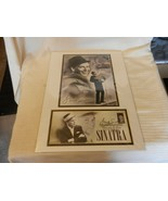 Frank Sinatra - USPS First Day of Issue Stamp, Poster Matted Brand New - $74.25