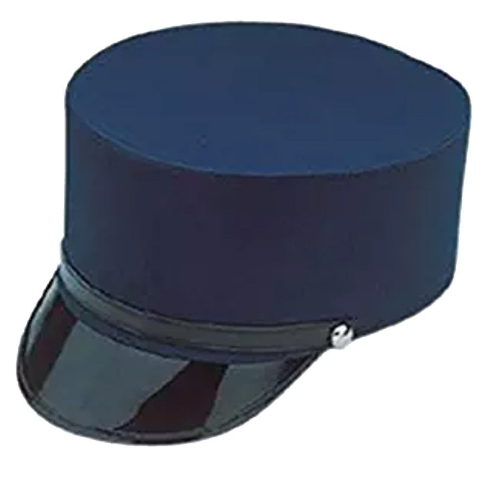 ... Adult Navy Blue Train Engineer Conductor Driver Hat Costume Accessory  ... 502c9b371