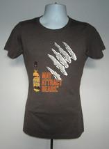 New Womens Jim Beam Honey Bourbon T Shirt Large May Attract Bears - $21.73