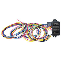 12 Circuit Universal Wiring Harness Muscle Car Hot Rod Street Rod XL Wires image 1