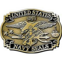 United States American Navy SEALS Belt Buckle - $18.76