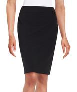 Tahari ASL Lenny New Womens Black Solid Pencil Skirt    8 - $27.71