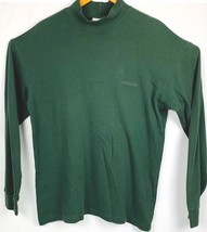 Columbia Mens Large Dark Green Long Sleeve Casual Pullover  Shirt - $16.51
