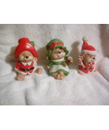 Country Christmas Bear Trio from Homeco - $13.00
