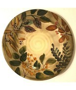Home Trends Shadowwood Fall Leaves Floral Replacement Ceramic Dinner Pla... - $14.84