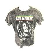 Bob Marley Gray T-shirt Reprint 2017 S - $14.84