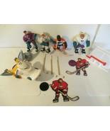 Lot Mighty Ducks Action Figures D Lorange Grin Nosedive Vanbiesbrouck - $39.60