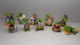 Kinder - 1993 Crazy Crocos - complete set - surprise eggs - $11.00