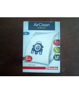 Miele 10123210 AirClean 3D Efficiency Dust Bag GN 4 Bags & 2 Filters Vac... - $27.61