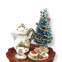 DOLLHOUSE Cookies for Santa Table 1.858/4 Reutter Christmas Miniature - $31.91