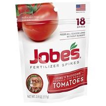 Jobe's Tomato Fertilizer Spikes, 6-18-6 Time Release Fertilizer for All ... - $6.79