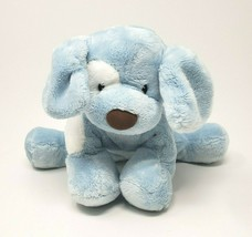 BABY GUND SPUNKY BLUE & WHITE PUPPY DOG # 058377 STUFFED ANIMAL PLUSH TO... - $23.38