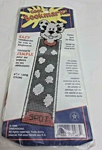 Cool Bookmark Needlepoint Kit Spot The Dog Dimensions Vintage New - $11.88