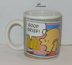 "Coffee Mug Cup The Peanuts Charlie Brown ""Good Grief!"" Ceramic - $9.50"