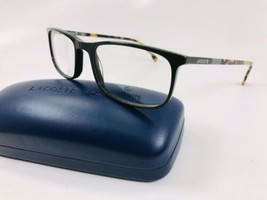 New LACOSTE L2808 315 Green Eyeglasses 55mm with Case - $89.05
