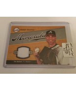 2007 Sweet Spot Sweet Swatch Memorabilia #TH Tim Hudson : Atlanta Braves - $5.27