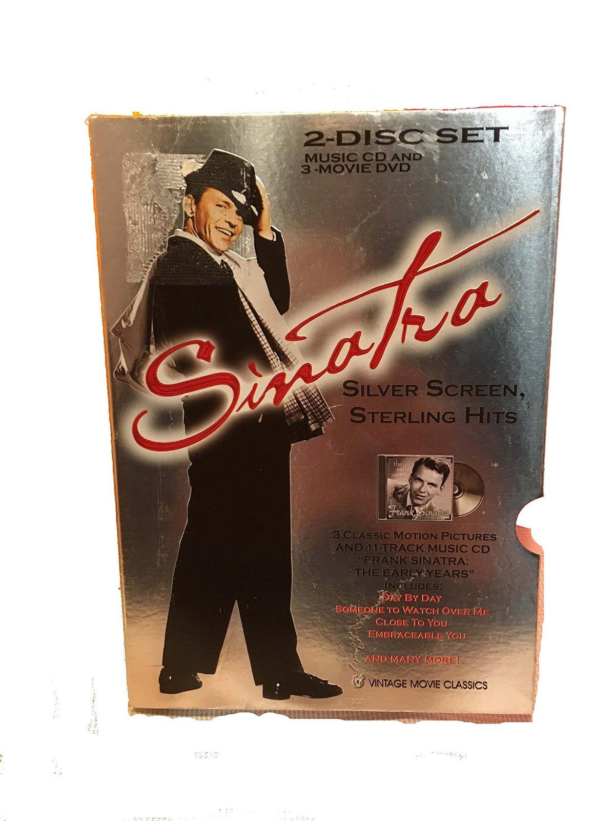 Frank Sinatra Music CD & DVD - 2 Disc Set image 2