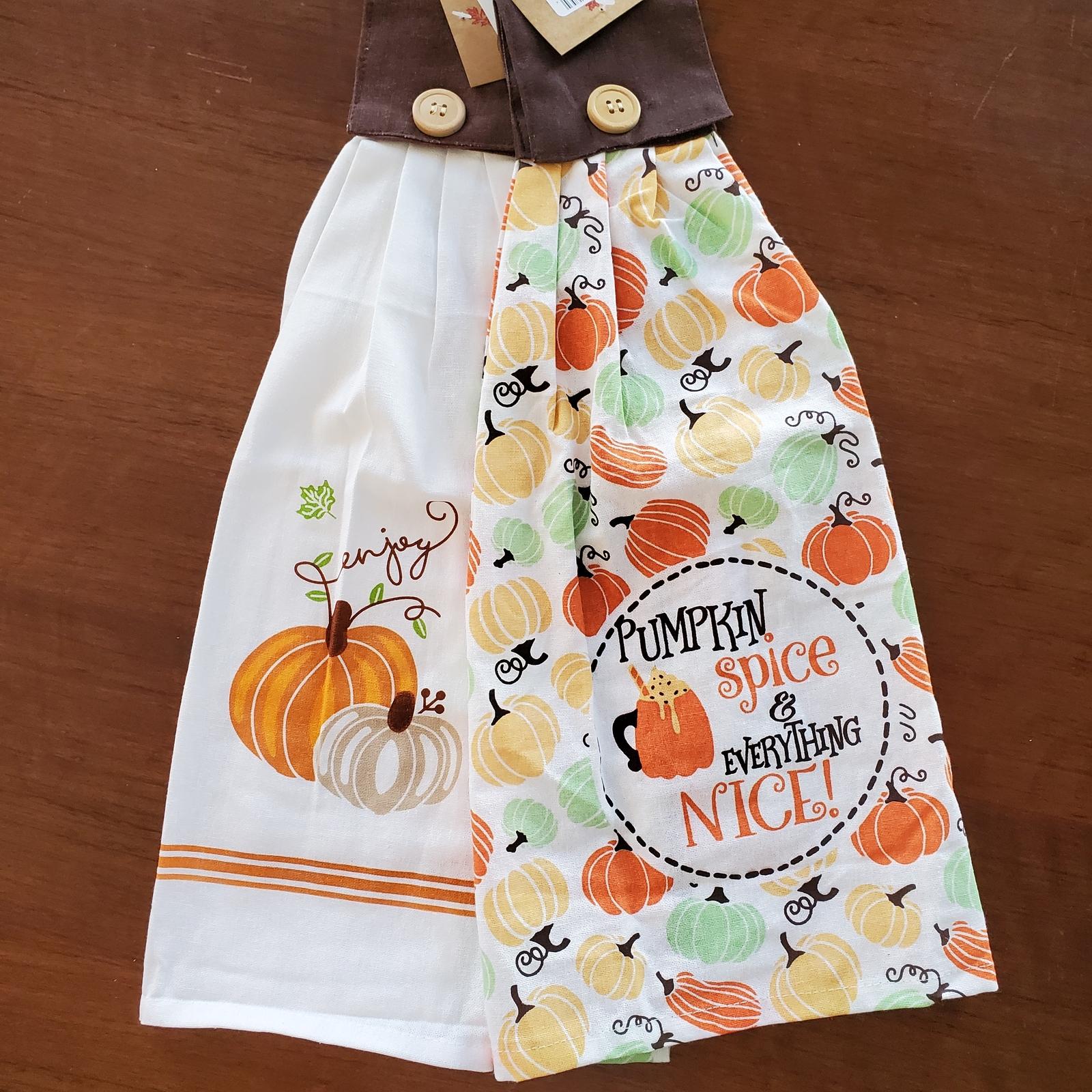 Tietowels pumpkinspice 1
