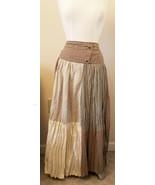 DStudio Long Fashion Skirt Size-12 Multicolor 100%Cotton Main Fabric - $19.95