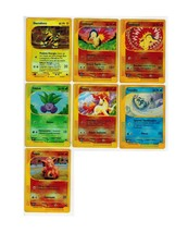 Pokemon TCG Lot 7 Reverse Holofoil Common Cards Vulpix Oddish Ponyta Tot... - $8.00